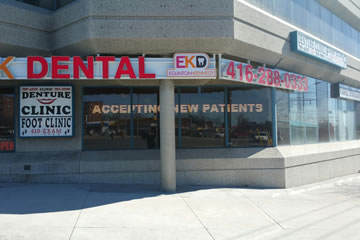 EK Dental Office Exterior