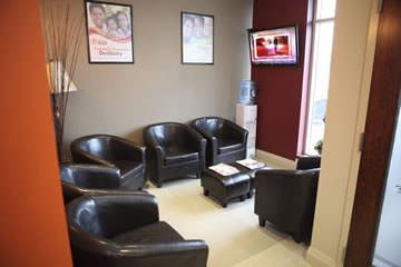 Mantra Dental Waiting Area